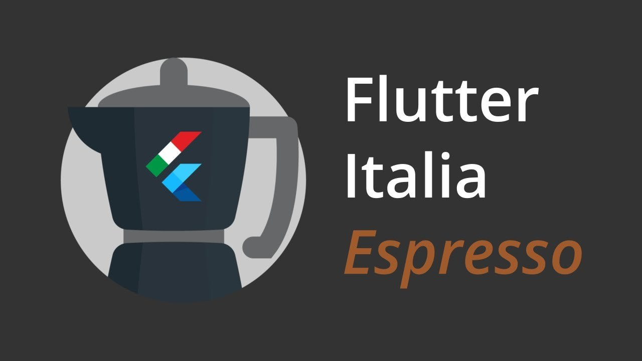 Logo Flutter Italia Espresso